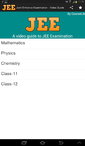 JEE - Video Guide