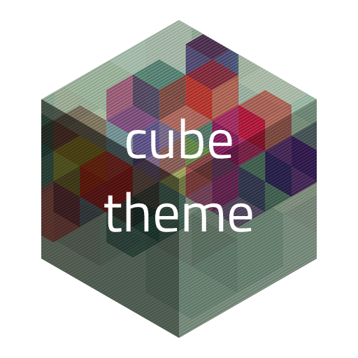 Cube Theme for Go LOGO-APP點子