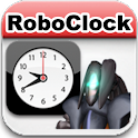 Robo 読上 watch clock (hourly) logo