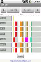 Screenshot of Cub-Cal Baby Tracker