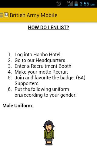 Habbo British Army