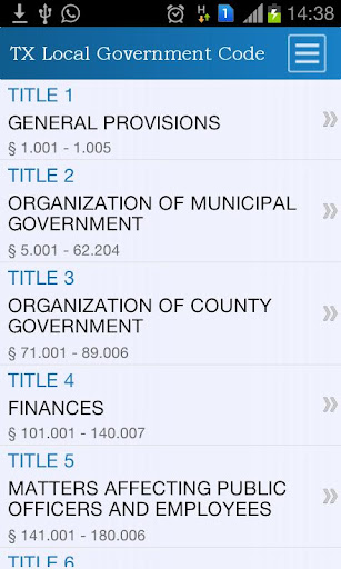 TX Local Government Code