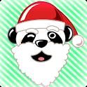 Panda Claus Talking Toy