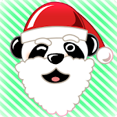 Panda Claus Talking Toy