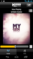 Screenshot of MYGEN RADIO