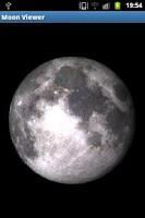 Screenshot of Moon Viewer (obsolete)