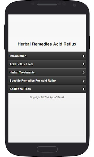 Herbal Remedies Acid Reflux