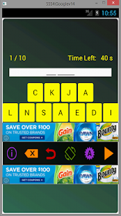 Drinks Scramble- screenshot thumbnail