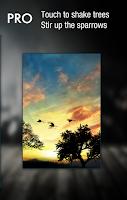 Screenshot of Sunset Hill Free LiveWallpaper