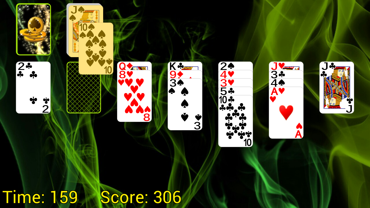 Golf (Turbo) Solitaire- screenshot