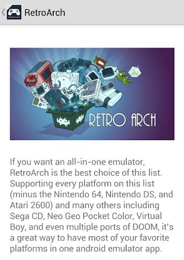 Free Emulator Game Apps