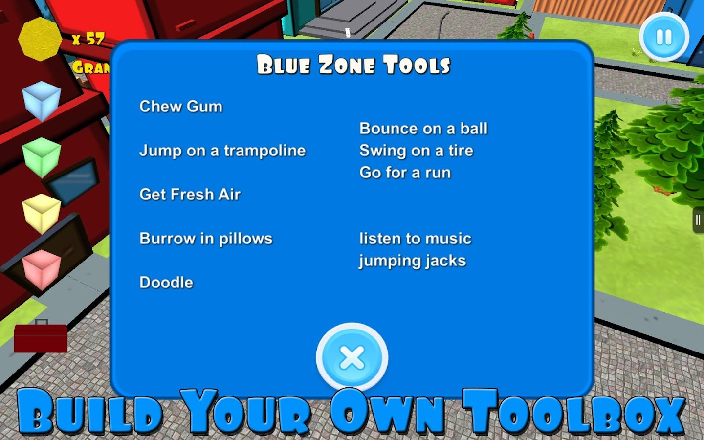 The Zones of Regulation- screenshot