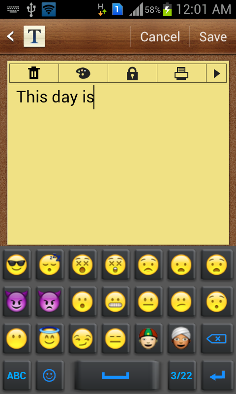 Emoji Keyboard- screenshot