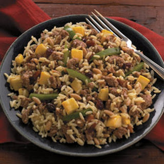 Turkey Chutney Pilaf
