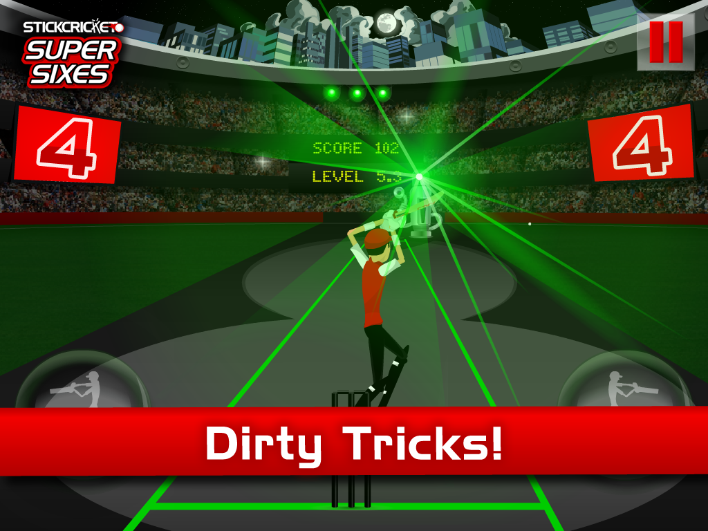Stick Cricket Super Sixes - screenshot