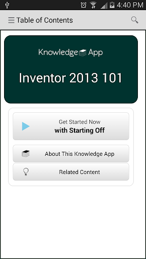 kApp - Inventor 2013 101