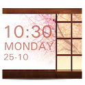 SakuraStyle Clock Widget icon