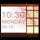 SakuraStyle Clock Widget