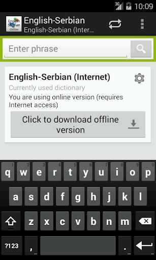 English-Serbian Dictionary
