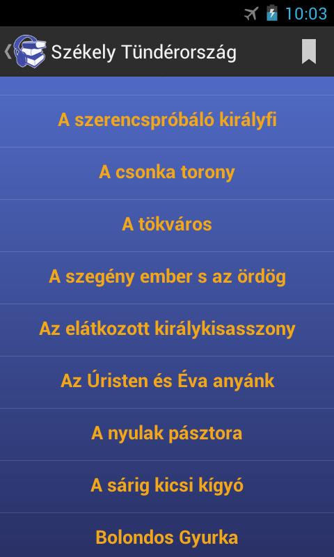 Benedek Elek mesék hangoskönyv - screenshot