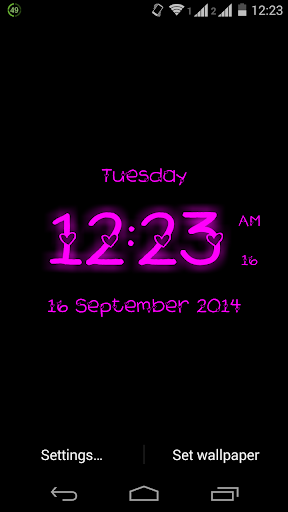 Super Digital Clock LiveWP