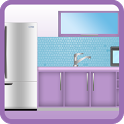 design kitchen game icon