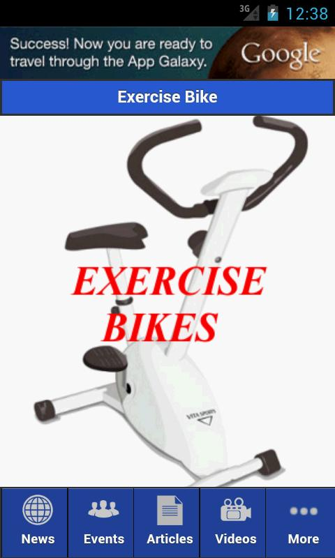 Exercise Bike - screenshot