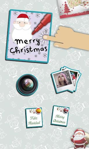 クリスマスが写真のためのフレーム
