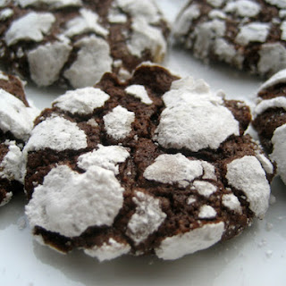 Chocolate Crackle Cookies.
