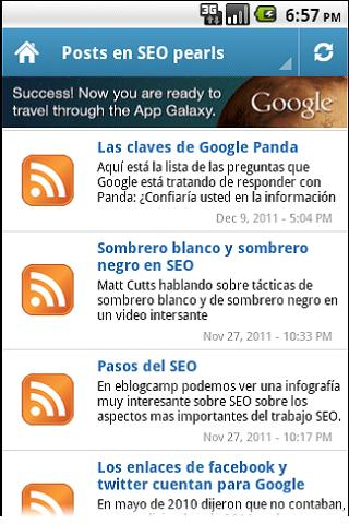 SEO pearls - screenshot