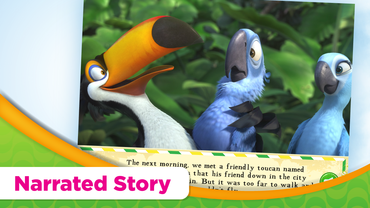 Rio Movie Read & Play- screenshot