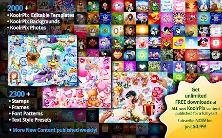 KoolrPix Studio Image Editor Screenshot 8