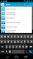 Screenshot of Bizi Zaragoza