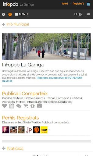 La Garriga. Infopob