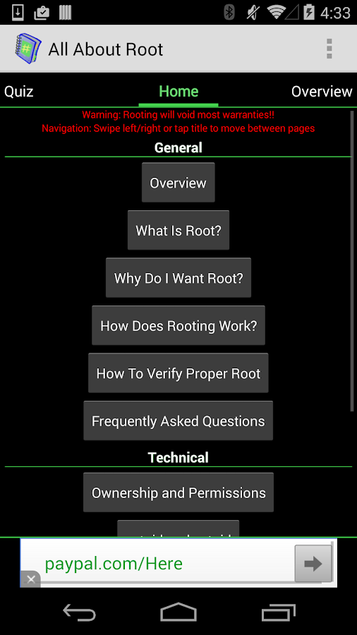 Root for Android - All About - screenshot