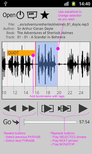 を繰り返すプレイヤー WorkAudioBook