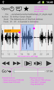 Repeat player WorkAudioBook - screenshot thumbnail