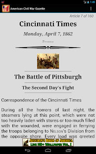 1862 Apr Am Civil War Gazette - screenshot thumbnail
