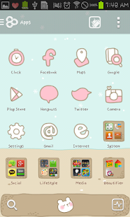 Sleeping Bear golauncher theme - screenshot thumbnail
