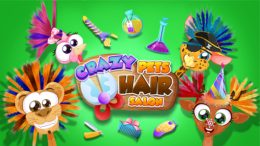 Crazy Pets Hair Salon 1.0.3 screenshots 1