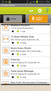 Location Offers screenshot 2