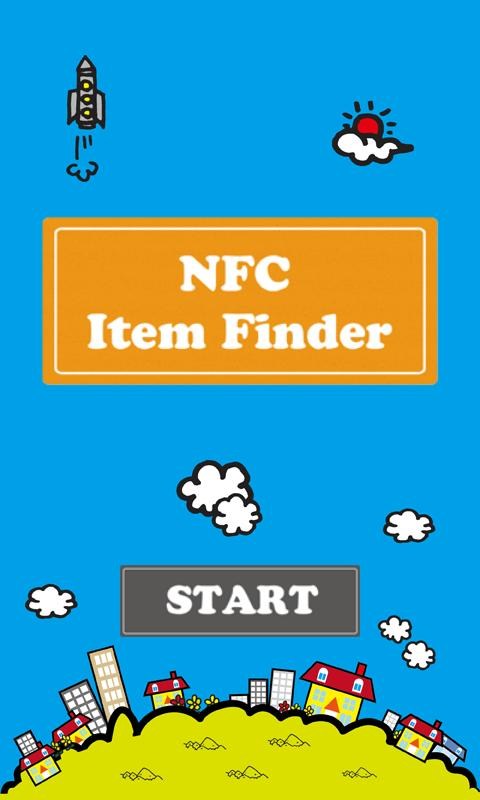 NFC Item Finder- screenshot