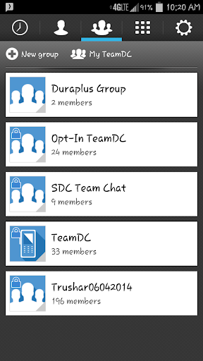 TeamDC Client for SDC