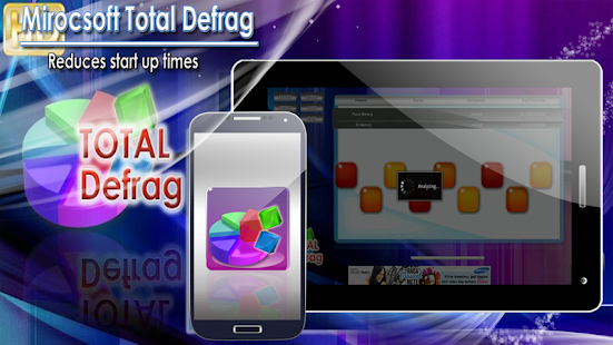 Mirocsoft Total Defrag - screenshot thumbnail
