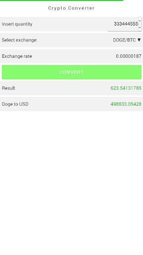 Dogecoin Converter