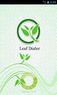 Leaf Dialer - screenshot thumbnail