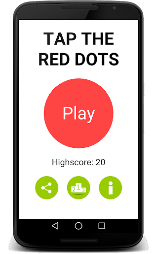 Tap The Red Dots