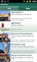 Screenshot of Visit McKinney Texas