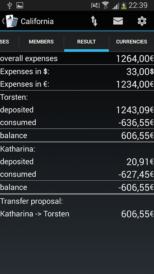 Vacation Fund - screenshot