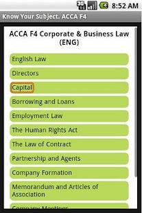 f4 corporate business law Lịch khai giảng chi tiết môn học acca f4 – corporate & business law tại smart train | bao gồm: nội dung môn học chi tiết, giảng viên giảng.
